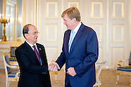 King Willem-Alexander receives President of Myanmar
