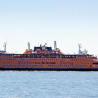 Staten Island Ferry, New York City, NYC