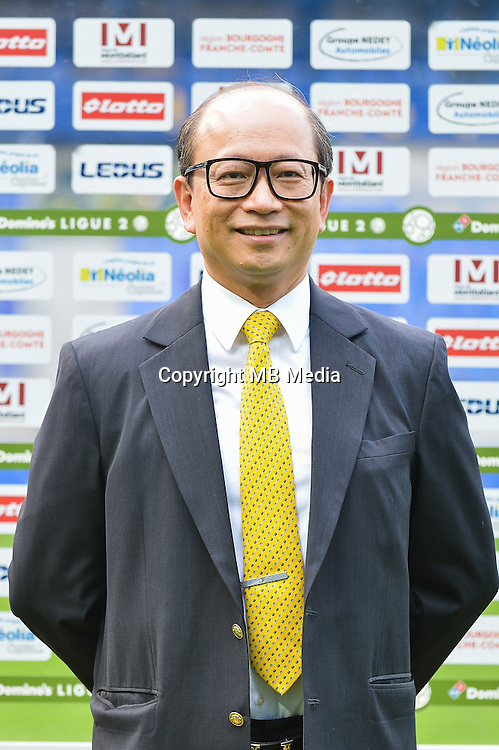 Wing Sang Li of Sochaux during the FC Sochaux photocall for the season 2016/2017 in Sochaux on September 20th 2016<br /> Photo : Philippe Le Brech / Icon Sport