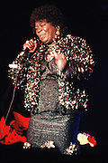 Koko Taylor performs at the Blues Awards, Memphis, Tennessee.
