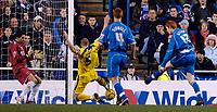 Photo: Daniel Hambury.<br />Reading v Cardiff City. Coca Cola Championship.<br />02/01/2006.<br />Reading's Dave Kitson (R) scores to make it 3-0.
