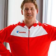 NLD/Amsterdam/20151021 - Ploegpresentatie Corendon schaatsploeg, Peter Kolder