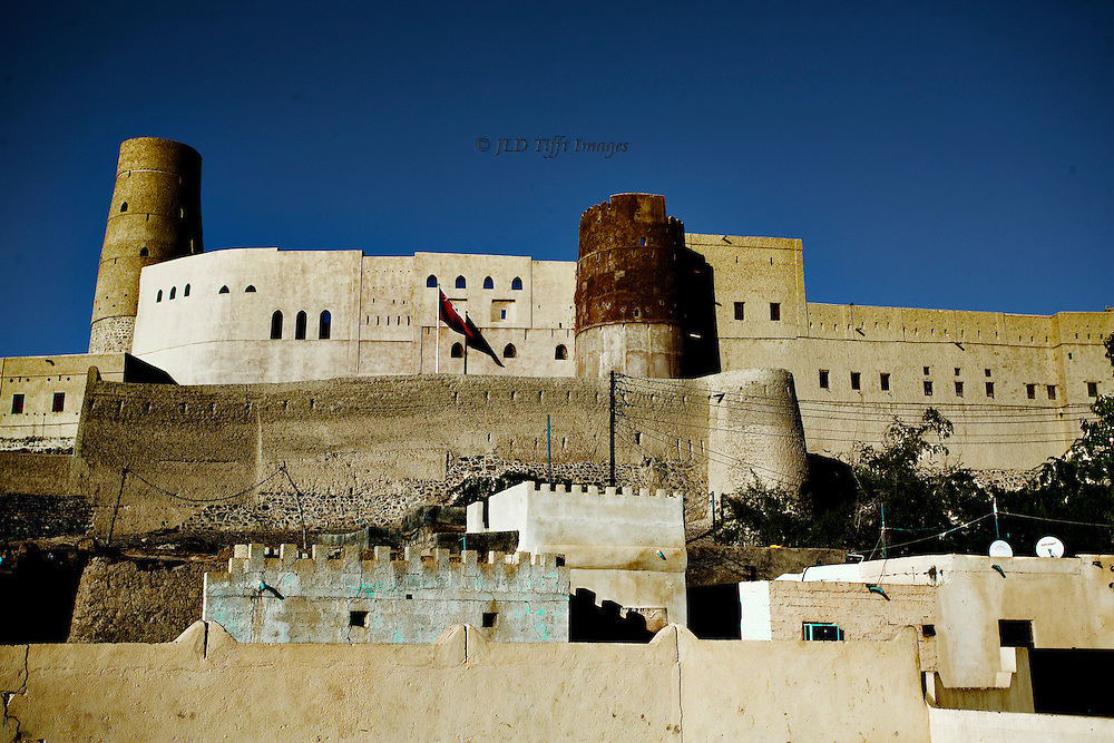 Oman, Bahla Fort, under UNESCO-sponsored restoration.