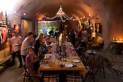 Thanksgiving at Menzel and D'Aluisio's in the Napa Valley, California.