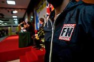 Roma 1 Marzo 2014<br /> Riunione  dei partiti dell'ultradestra europea  per un convegno dal titolo &ldquo;L&rsquo;Europa Risorge&rdquo;  organizzato da Forza Nuova.<br /> Rome, March 1, 2014<br /> Meeting of the ultra-right European parties for a conference entitled &quot;Europe is resurrects .&quot; organized by of New Force (Forza Nuova)