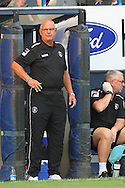 Picture by David Horn/Focus Images Ltd +44 7545 970036<br /> 23/07/2013<br /> John Still , Manager of Luton Town looks on during the Pre Season Friendly match at Kenilworth Road, Luton.