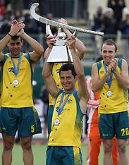 Auckland-Hockey, Champions Trophy, Spain v Australia FInal
