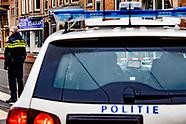 Straat in Amsterdam afgezet om verdacht pakketje