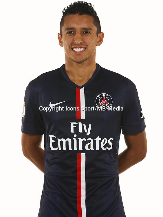 MARQUINHOS - 07.10.2014 - Portrait Officiel - Paris Saint Germain -<br /> Photo : Gavelle / PSG / Icon Sport