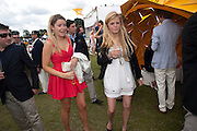 EMERALD FRASER; COCO CLEVELEY;, Veuve Clicquot Gold Cup. Cowdray Park on July 20, 2008 . Midhurst, England.