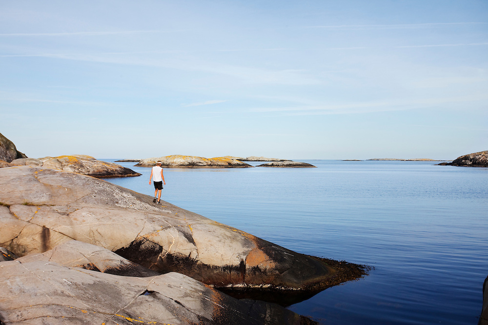 Westcoast of Sweden, running, archipelago, beach, sweden, www.dankullberg,com, photo dan kullberg,