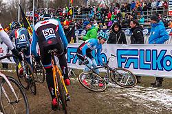Willem Boersma (CAN), Men Juniors, Cyclo-cross World Championship Tabor, Czech Republic, 31 January 2015, Photo by Pim Nijland / PelotonPhotos.com