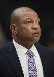 November 27, 2017 - Los Angeles, California, U.S - Coach, Doc Rivers of the Los Angeles Clippers during their game with the Los Angeles Lakers on Monday November 27, 2017 at the Staples Center in Los Angeles, California. Clippers vs Lakers. (Credit Image: © Prensa Internacional via ZUMA Wire)