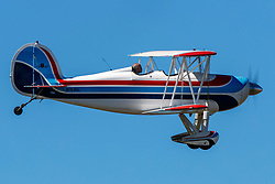 Great Lakes 2T-1A-2 (N763GL) on approach to Palo Alto Airport (KPAO), Palo Alto, California, United States of America