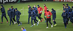 November 28, 2018 - Malmo, SWEDEN - Genk's players pictured during the training session of Belgian soccer team KRC Genk in Malmo, Sweden, Wednesday 28 November 2018. Genk will meet Swedish club Malmo on the fifth day of the UEFA Europa League group stage, in group I. BELGA PHOTO YORICK JANSENS (Credit Image: © Yorick Jansens/Belga via ZUMA Press)