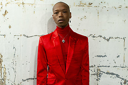 May 26, 2018 - Johannesburg, Gauteng, South Africa - South African artist, NAKHANE TOURÉ, musician and actor, stands backstage for a portrait, at the Africa Day Festival - The Baseline Fest, in Johannesburg,  Gauteng, South Africa. (Credit Image: © Stefan Kleinowitz via ZUMA Wire)