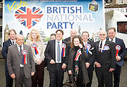 British National Party election manifesto launch for the May 3 London Assembly elections in East London, Great Britain <br />