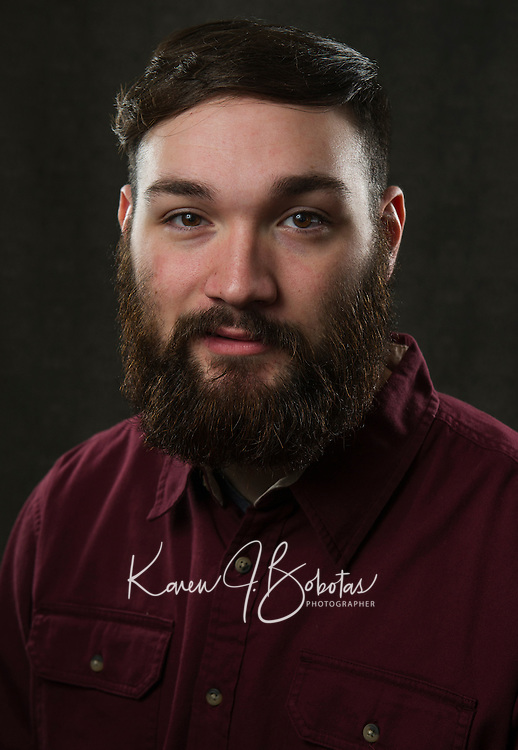 Devon's Headshot Session.   ©2016 Karen Bobotas Photographer