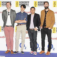 Vampire Weekend, Nordoff Robbins O² Silver Clef Awards, London Hilton Park Lane, London UK, 28 June 2013, (Photo by Richard Goldschmidt)