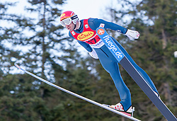 14.12.2013, Nordische Arena, Ramsau, AUT, FIS Nordische Kombination Weltcup, Skisprung, Wettkampfdurchgang, im Bild Christoph Bieler (AUT) // Christoph Bieler (AUT) during Ski Jumping of FIS Nordic Combined World Cup, at the Nordic Arena in Ramsau, Austria on 2013/12/14. EXPA Pictures © 2013, EXPA/ JFK