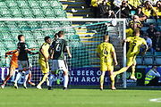 Goal - Kyle McFadzean (5) of Burton Albion scores a goal to make the score 2-3 during the EFL Sky Bet League 1 match between Plymouth Argyle and Burton Albion at Home Park, Plymouth, England on 20 October 2018.