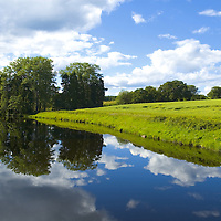 River Earn at Kinkell, Perthshire, Scotland<br />