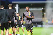 Burton Albion forward Lloyd Dyer (23) warms up during the EFL Cup match between Burton Albion and Bournemouth at the Pirelli Stadium, Burton upon Trent, England on 25 September 2019.