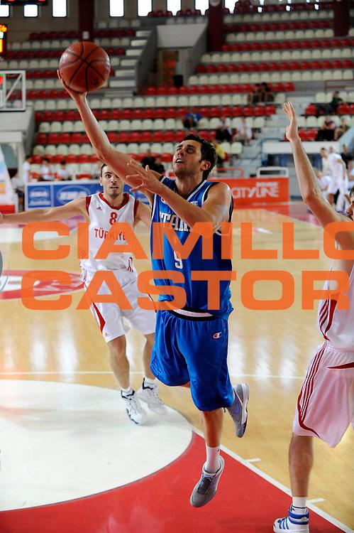 DESCRIZIONE : Teramo Giochi del Mediterraneo 2009 Mediterranean Games Italia Turchia Italy Turkey Preliminary Men<br /> GIOCATORE : Giuliano Maresca<br /> SQUADRA : Nazionale Italiana Maschile<br /> EVENTO : Teramo Giochi del Mediterraneo 2009<br /> GARA : Italia Turchia Italy Turkey<br /> DATA : 30/06/2009<br /> CATEGORIA : tiro<br /> SPORT : Pallacanestro<br /> AUTORE : Agenzia Ciamillo-Castoria/C.De Massis<br /> Galleria : Giochi del Mediterraneo 2009<br /> Fotonotizia : Teramo Giochi del Mediterraneo 2009 Mediterranean Games Italia Turchia Italy Turkey Preliminary Men<br /> Predefinita :