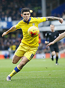 Leeds United midfielder Alex Mowatt during the Sky Bet Championship match between Queens Park Rangers and Leeds United at the Loftus Road Stadium, London, England on 28 November 2015. Photo by Andy Walter