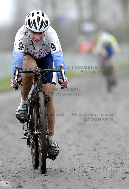 06-01-2007 WIELRENNEN: NK VELDRIJDEN VROUWEN: WOERDEN<br /> Anne Eversdijk<br /> &copy;2007-WWW.FOTOHOOGENDOORN.NL
