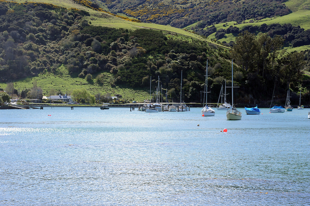 Yachts, fishing boats, leisure craft, marina, Port Chalmers, Dunedin, New Zealand, Wednesday, September 12, 2012. Credit:SNPA / Ross Setford