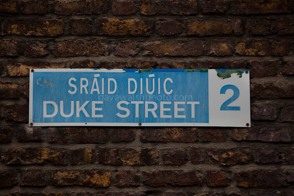 Duke St. Dublin city centre