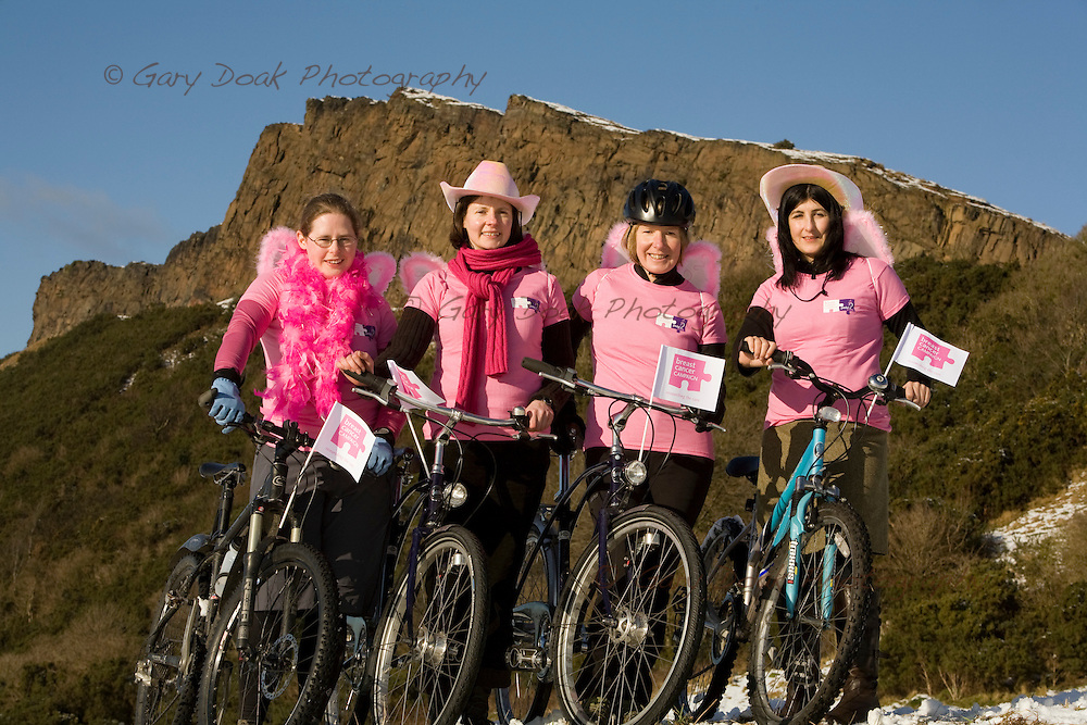 Pedal it Pink!.Edinburgh launch.