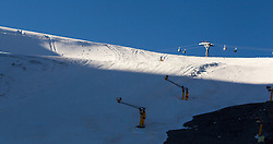04.10.2014, Rettenbach Ferner, Soelden, AUT, US Ski Team, Gletschertraining, im Bild Zielhang Weltcup Rennen // Glacier Overview during a practice session of US Ski Team at the Rettenbachferner, Austria on 2014/10/04. EXPA Pictures © 2014, PhotoCredit: EXPA/ JFK