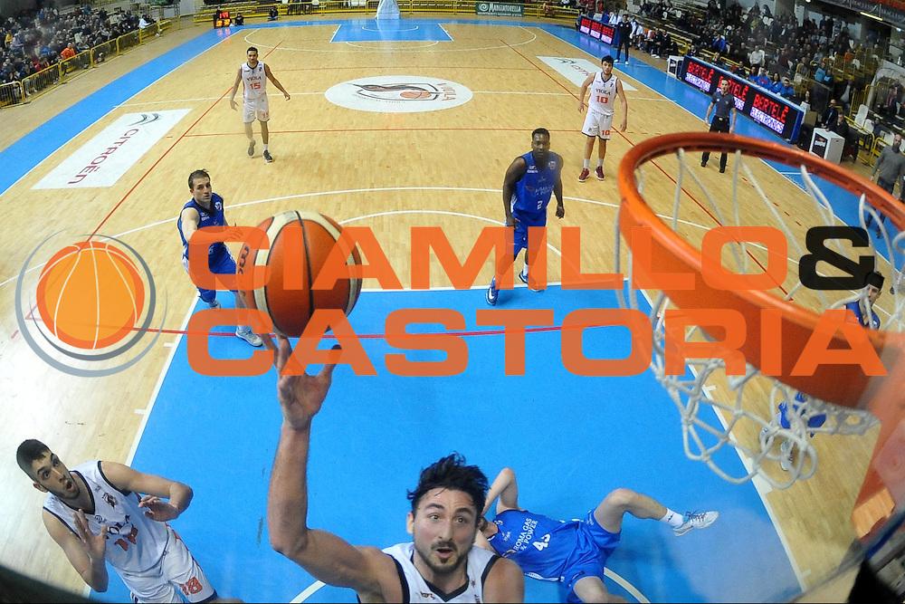 Patrick Baldassarre<br /> Viola Reggio Calabria - Roma Gas &amp; Power Roma<br /> Campionato Basket LNP 2016/2017<br /> Reggio Calabria 26/02/2017<br /> Foto Ciamillo-Castoria