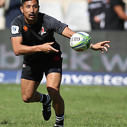 DURBAN, SOUTH AFRICA - MARCH 10: Keisuke Uchida of the HITO-Communications Sunwolves during the Super Rugby match between Cell C Sharks and Sunwolves at Jonsson Kings Park Stadium on March 10, 2018 in Durban, South Africa. (Photo by Steve Haag/Gallo Images)