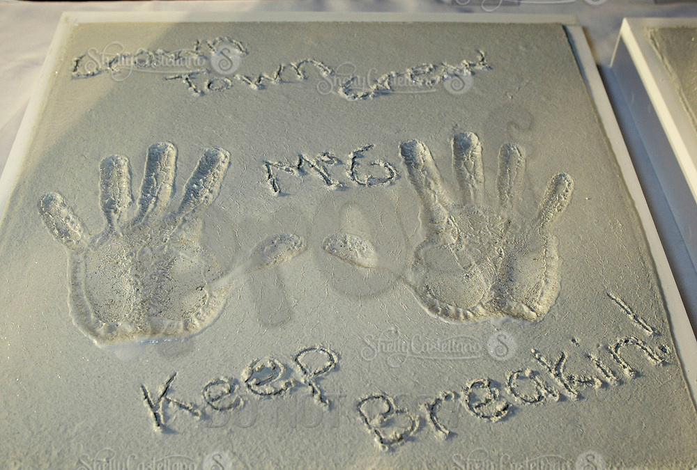 Oct 28, 2004; Newport Beach, CA, USA; Executive Producer McG on the FOX hit TV show 'The OC' visited the Balboa Penninsula in Newport Beach to get a Key to the City and be immortalized in cement with thier hand prints to be placed at the enterance to the Historic Balboa Pavillion. McG Hand Prints and signture in cement.  Mandatory Credit: Photo by Shelly Castellano/ZUMA Press.