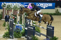 Gulliksen Geir, (NOR), Edesa S Banjan<br /> Longines FEI World Cup™ Jumping Final I<br /> Las Vegas 2015<br />  © Hippo Foto - Dirk Caremans<br /> 17/04/15