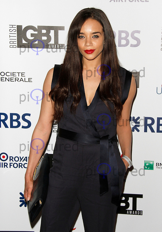 Hannah John-Kamen, British LGBT Awards, The Landmark London, London UK, 24 April 2015, Photo by Brett D. Cove
