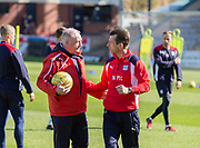 Interim Dundee FC manager Neil McCann and assistant manager Gerry McCabe - Dundee FC itraining at Dens Park, Dundee, Photo: David Young<br /> <br />  - &copy; David Young - www.davidyoungphoto.co.uk - email: davidyoungphoto@gmail.com