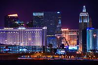 Monte Carlo, Cosmopolitan, Mandarin Oriental, & New York New York Hotels
