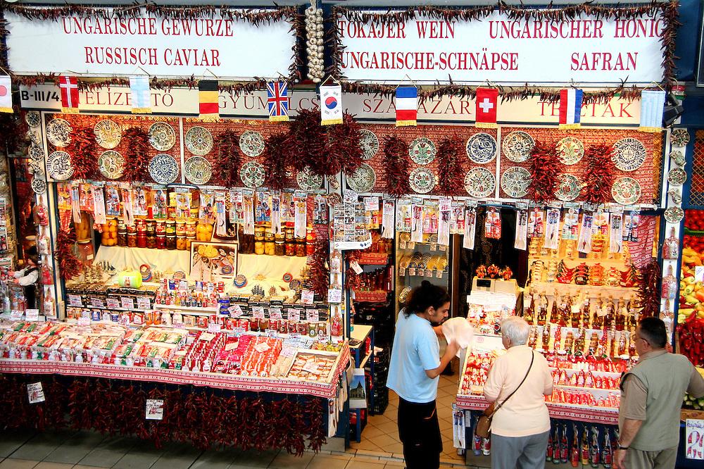 The Great Market Hall (Nagycsarnok), Budapest, Hungary