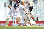 Cricket - India v England 5th Test Day 3 at Chennai