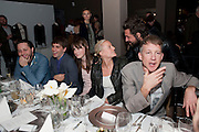 DERECK BLASBERG; RYAN MCNAMARA; PIPER MARSHALL; OLYMPIA SCARRY; JEFFERSON HACK, Tilda Swinton / Pringle Dinner at the Webster,  Miami Beach. 3 December 2010. -DO NOT ARCHIVE-© Copyright Photograph by Dafydd Jones. 248 Clapham Rd. London SW9 0PZ. Tel 0207 820 0771. www.dafjones.com.