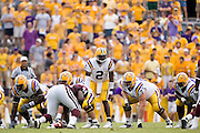 Baton Rouge, LA - SEPTEMBER 30:  JaMarcus Russell #2 of the LSU Tigers against the Mississippi State Bulldogs at Tiger Stadium on September 30, 2006 in Baton Rouge, Louisiana.  The Tigers defeated the Bulldogs 48 - 17.  (Photo by Wesley Hitt/Getty Images) *** Local Caption *** JaMarcus Russell