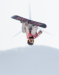 19.02.2018, Alpensia Ski Jumping Centre, Pyeongchang, KOR, PyeongChang 2018, Snowboard, Damen, Big Air, im Bild Jamie Anderson (USA) // Jamie Anderson of the USA during the Ladies Snowboard Big Air of the Pyeongchang 2018 Winter Olympic Games at the Alpensia Ski Jumping Centre in Pyeongchang, South Korea on 2018/02/19. EXPA Pictures © 2018, PhotoCredit: EXPA/ Johann Groder