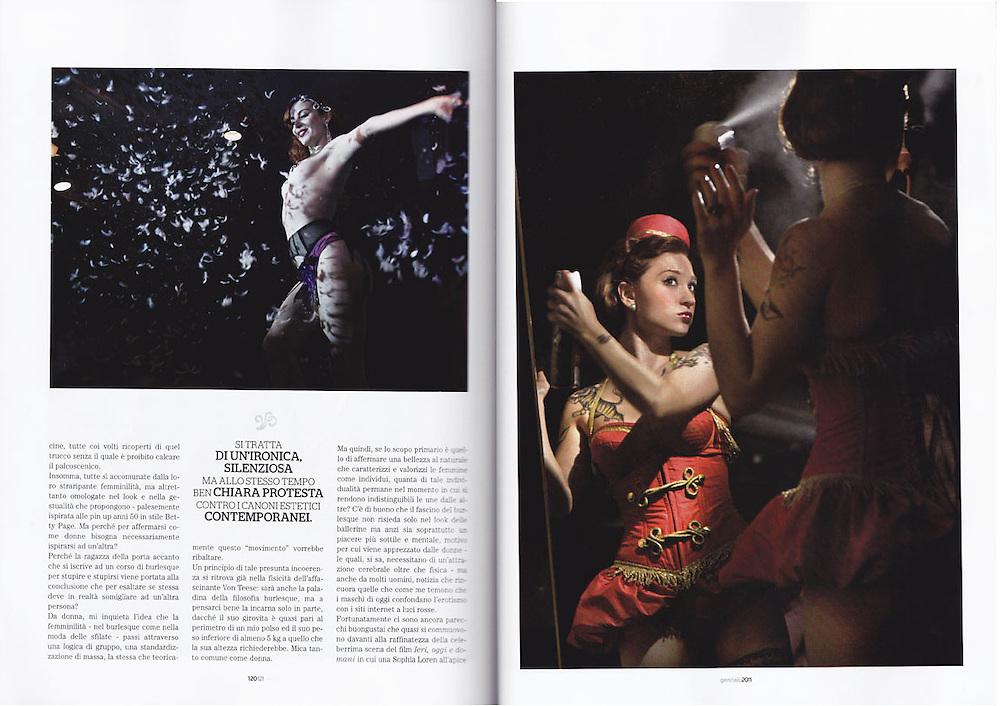 Playboy © Zoe Vincenti, 2011