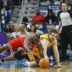 02-12-2011 Chicago Bulls at New Orleans Hornets
