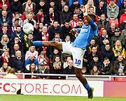 Jamal Lowe controls the ball during the EFL Sky Bet League 1 match between Sunderland and Portsmouth at the Stadium Of Light, Sunderland, England on 27 April 2019.