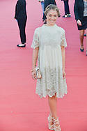 Alice Isaaz attends the red carpet during the 41st Deauville American Film Festival on September 6, 2015 in Deauville, France